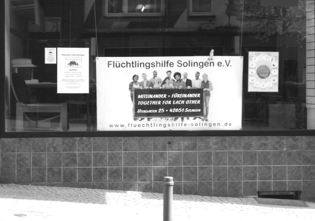 Die Räume der Flüchtlingshilfe Solingen e.V. liegen am Ufergarten 25