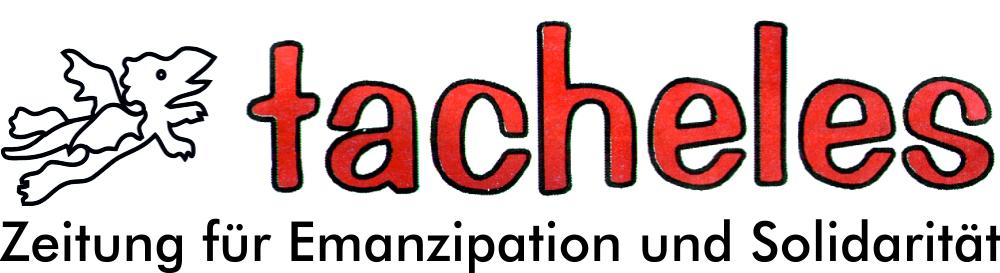 tacheles – Zeitung für Emanzipation und Solidarität